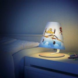 Lampa dziecięca LED SAMOLOTY 71764/53/16 Philips