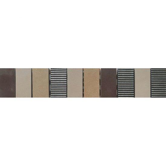 Gres szkliwiony ARENISCA kremowy listwa mozaika mat 5,4x29,7 gat. I