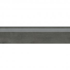 Gres szkliwiony GRAVA grafitowy stopnica mat 29,8x119,8 gat. I