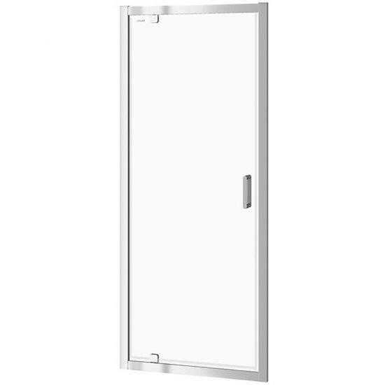 Drzwi PIVOT kabiny prysznicowej ARTECO 80x190 transparentne