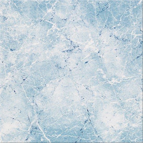 Płytka podłogowa SANDRA niebieska błyszcząca 33,3x33,3 gat. I