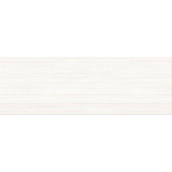 Płytka ścienna ELEGANT STRIPES biała błyszcząca 25x75 gat. II