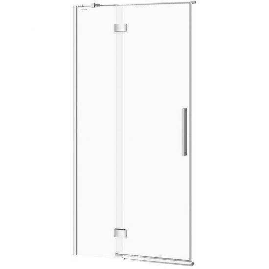 Drzwi na zawiasach kabiny prysznicowej CREA 100x200 lewe transparentne