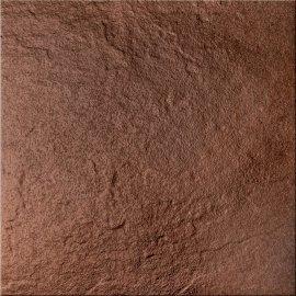 Klinkier SOLAR brązowy 3-D połysk 30x30 gat. II