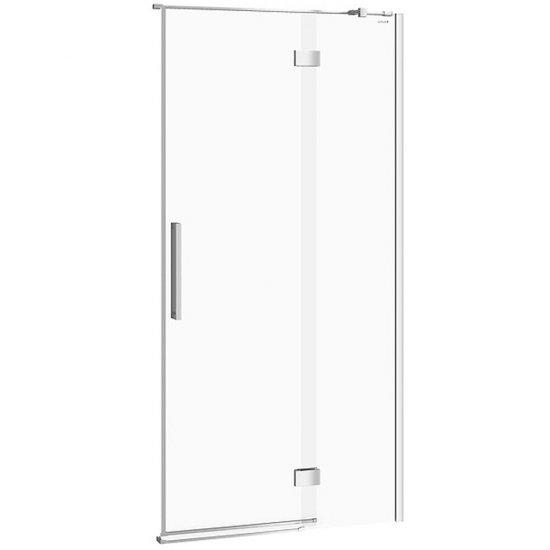 Drzwi na zawiasach kabiny prysznicowej CREA 100x200 prawe transparentne