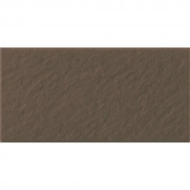 Klinkier SIMPLE BROWN brązowy podstopnica 3-D mat 14,8x30 gat. I*