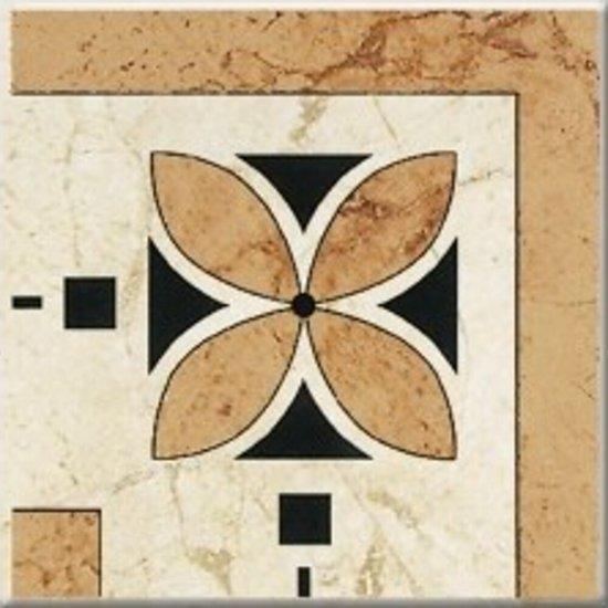 Gres szkliwiony OKTAWIA beżowy narożnik mat 14,8x14,8 gat. I