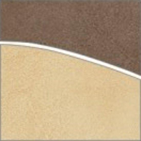 Gres szkliwiony ARENISCA beżowy narożnik fala mat 8,8x8,8 gat. I