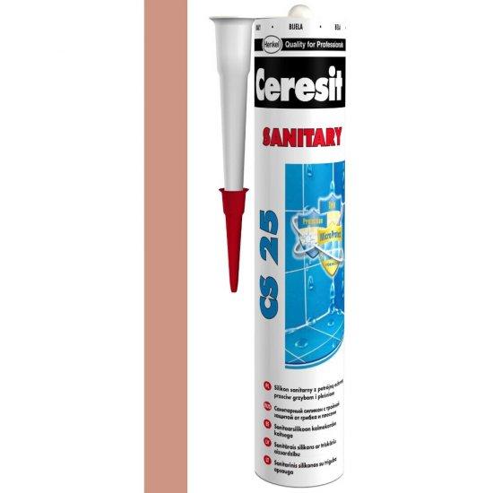 Silikon sanitarny CERESIT CS 25 cocoa 280 ml