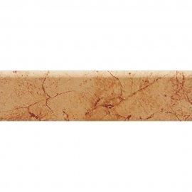 Gres szkliwiony KASTOR brązowy cokół mat 8x29,7 gat. I