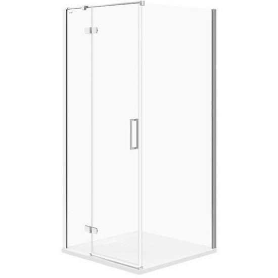 Kabina prysznicowa kwadratowa JOTA 90x90x195 LEWA szkło transparentne