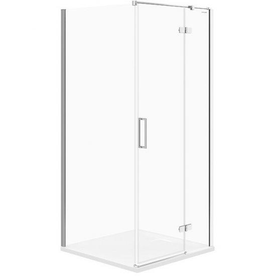 Kabina prysznicowa kwadratowa JOTA 90x90x195 PRAWA szkło transparentne