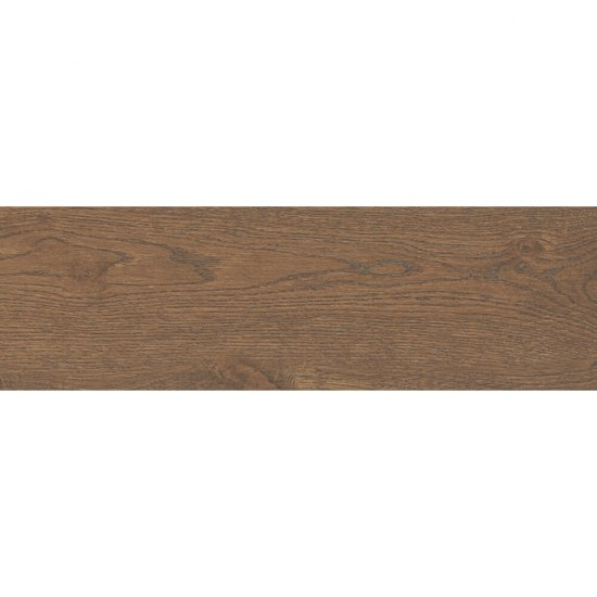 Gres szkliwiony ROYALWOOD brązowy mat 18,5x59,8 gat. I
