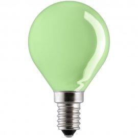 Żarówka dekoracyjna kulkowa 15W E27 zielony 15D1/G/E27 GE Lighting