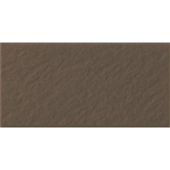 Klinkier SIMPLE BROWN brązowy podstopnica 3-D mat 14,8x30 gat. II