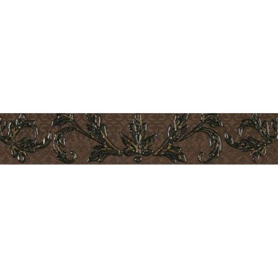 Płytka ścienna VALENTINA brązowa listwa mat 5,4x29 gat. I