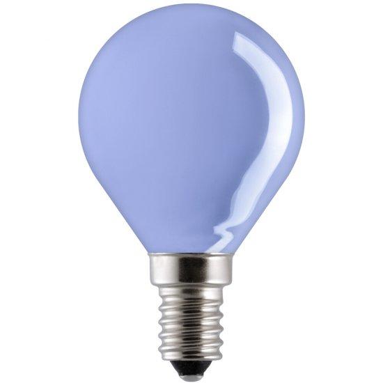 Żarówka dekoracyjna kulkowa 15W E14 niebieski 15D1/B/E14 GE Lighting