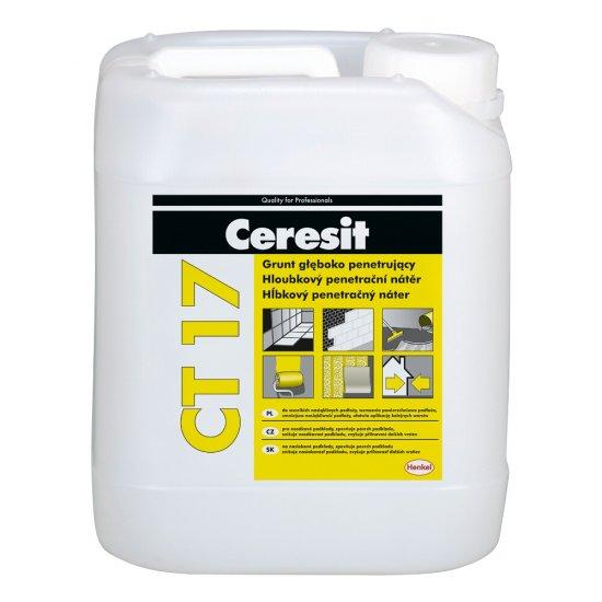 Grunt głęboko penetrujący CERESIT CT 17 bezrozpuszczalnikowy 5l