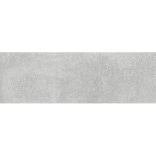 Płytka ścienna FLOWER CEMENTO jasnoszara mat 25x75 gat. II