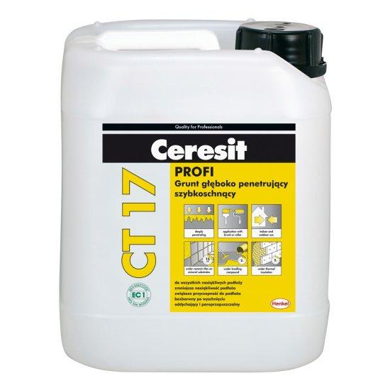 Grunt głęboko penetrujący CERESIT CT 17 bezrozpuszczalnikowy 10l