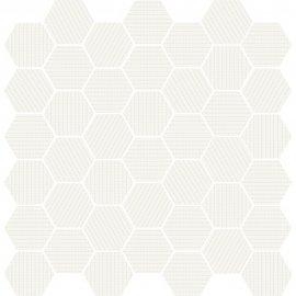 Mozaika gresowa MUZI biała błyszcząca 29x29,7 gat. I