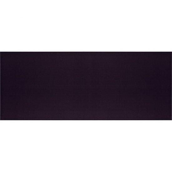 Płytka ścienna SYNTHIA czarna błyszcząca 20x50 gat. II*