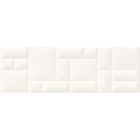 Płytka ścienna PILLOW GAME biała struktura mat 29x89 gat. II