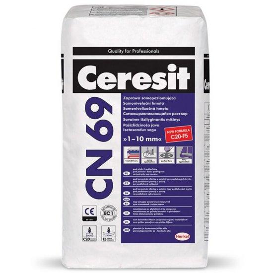 Zaprawa samopoziomująca CERESIT CN 69 1-10mm 25 kg