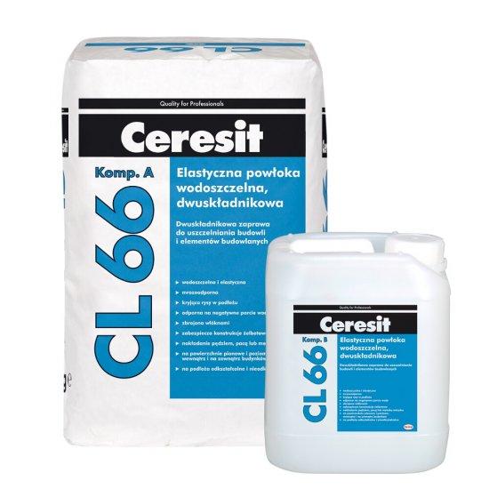 Elastyczna powłoka wodoszczelna, dwuskładnikowa Ceresit CL 66 20 kg