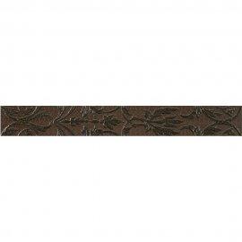 Płytka ścienna VALENTINA brązowa listwa mat 7,5x59,3 gat. I