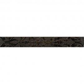 Płytka ścienna VALENTINA grafitowa listwa mat 7,5x59,3 gat. I