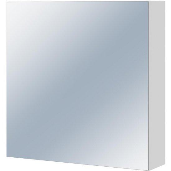 Szafka łazienkowa wisząca z lustrem COLOUR biała