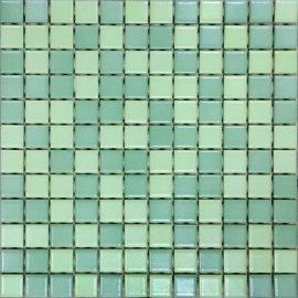 Mozaika PALETTE zielona mix mat 30x30 gat. I
