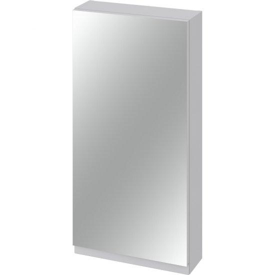 Szafka łazienkowa wisząca z lustrem MODUO 40 szara*