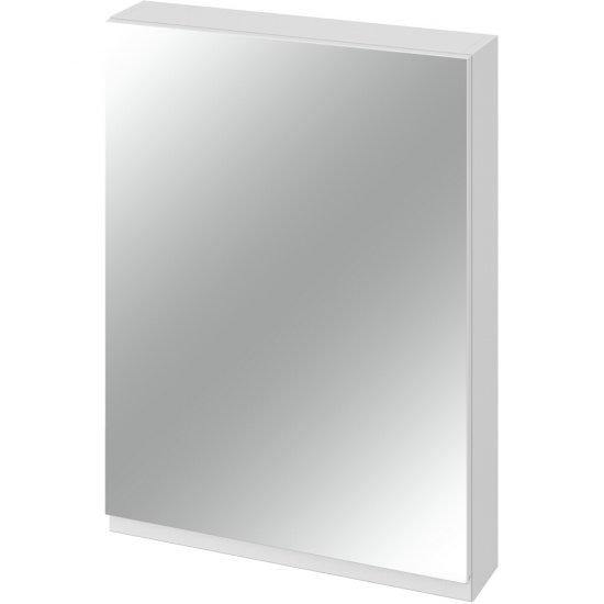 Szafka łazienkowa wisząca z lustrem MODUO 60 biała*