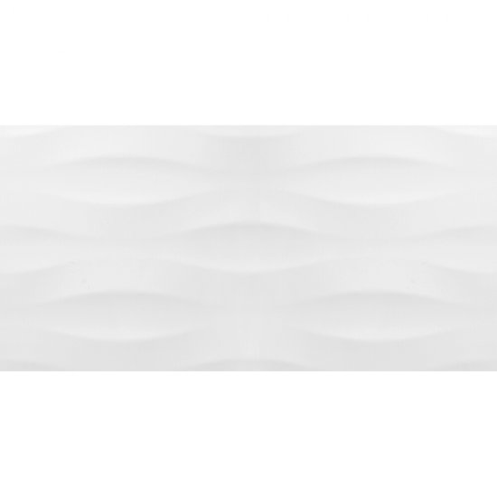 Płytka ścienna PEROUSO biała struktura błyszcząca 29,7x60 gat. II