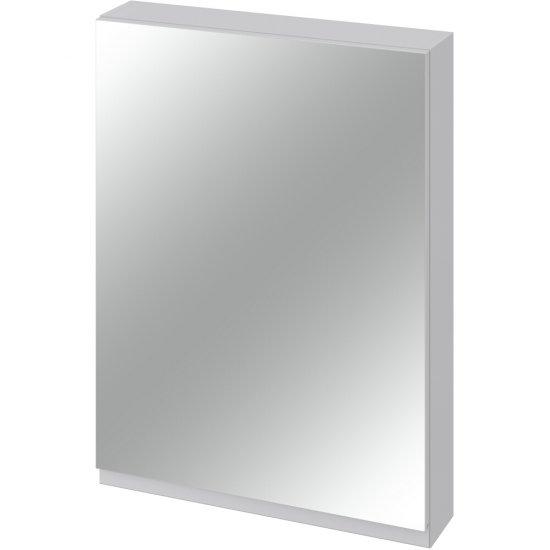 Szafka łazienkowa wisząca z lustrem MODUO 60 szara*