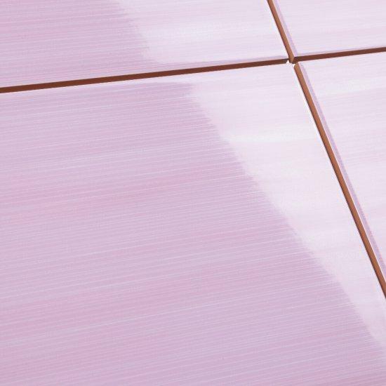 Płytka ścienna ARTIGA fioletowa paski błyszcząca 25x35 gat. II