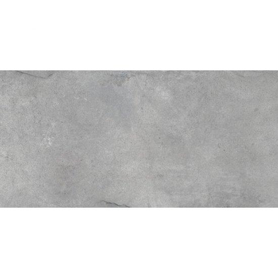 Płytka hiszpańska PLASTER szara mat 45x90