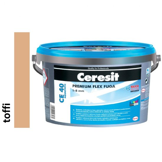 Fuga elastyczna CERESIT CE 40 toffi 5 kg