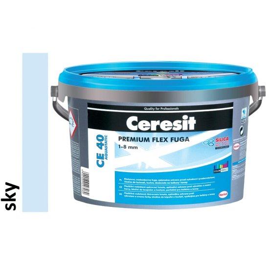 Fuga elastyczna CERESIT CE 40 sky 5 kg