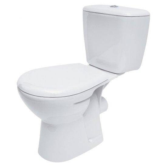 Kompakt WC ATLANTIC 3/6 deska duroplastowa antybakteryjna