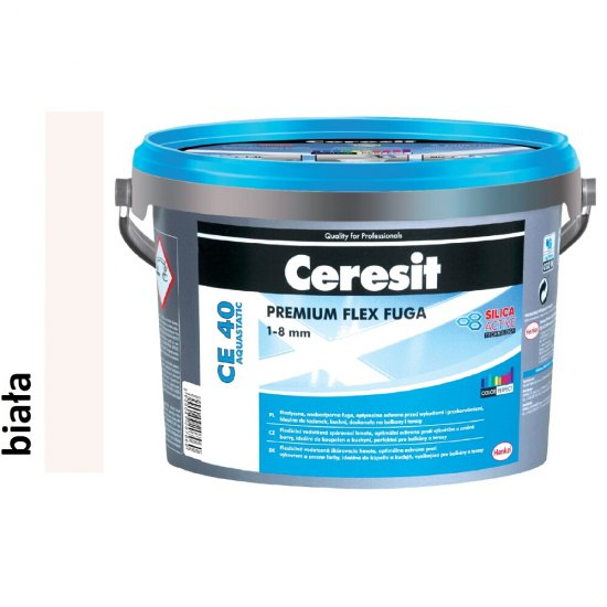 Fuga elastyczna CERESIT CE 40 biała 2 kg