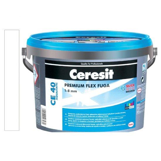 Fuga elastyczna CERESIT CE 40 white 5 kg