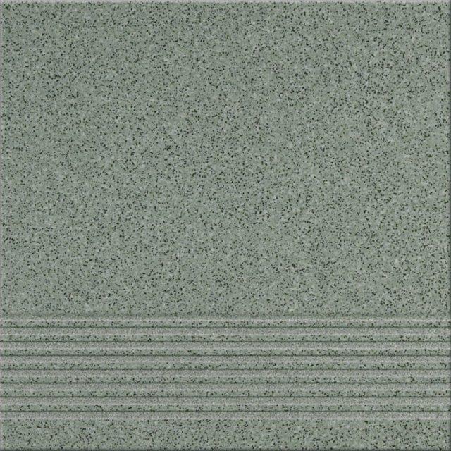 Gres techniczny KALLISTO zielony k7 stopnica mat 29,7x29,7 gat. I
