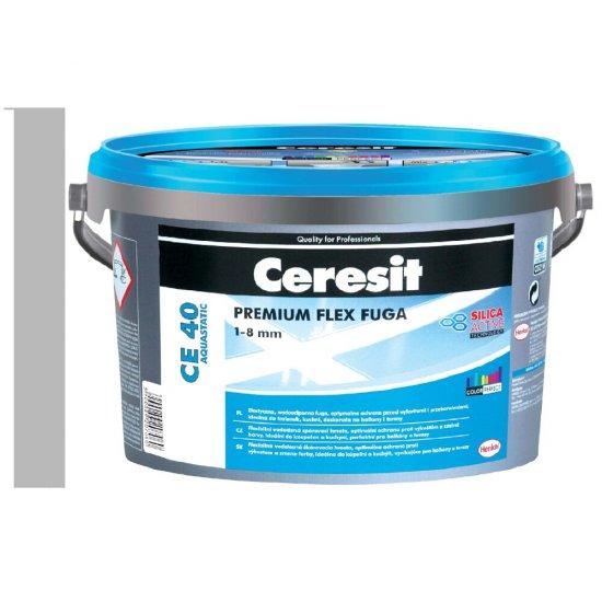 Fuga elastyczna CERESIT CE 40 gray 2 kg