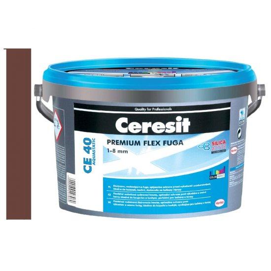 Fuga elastyczna CERESIT CE 40 chocolate 5 kg