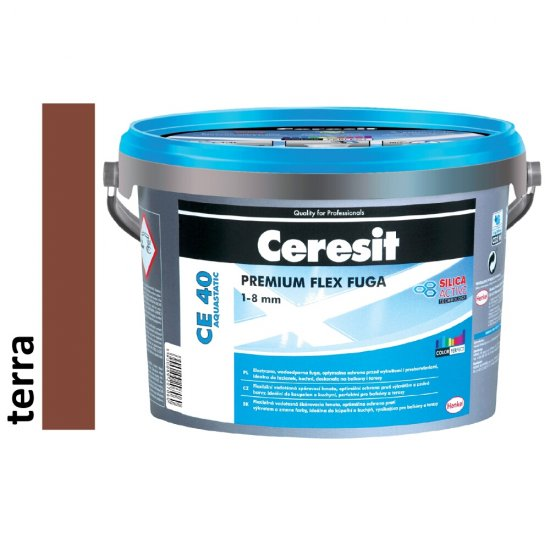 Fuga elastyczna CERESIT CE 40 terra 2 kg