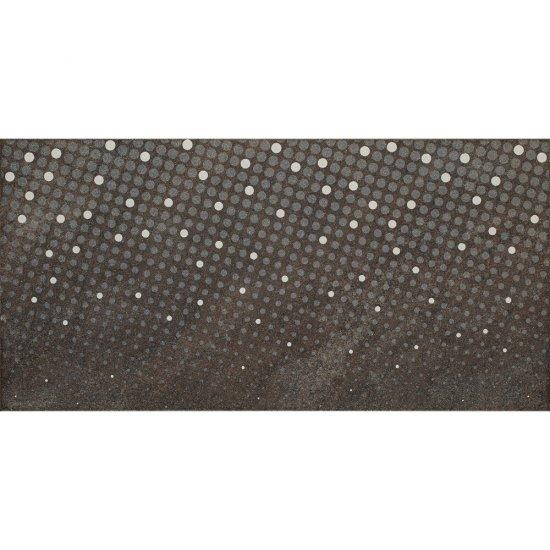 Gres szkliwiony ATAKAMA brązowy inserto kropki 29,7x59,8 gat. I