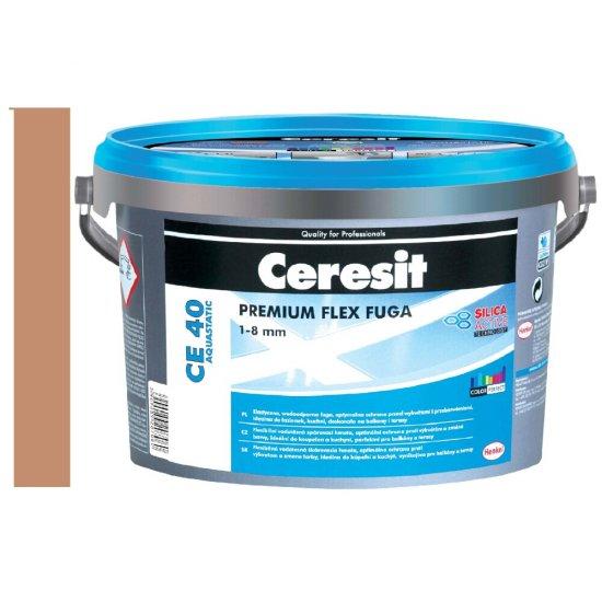 Fuga elastyczna CERESIT CE 40 siena 2 kg